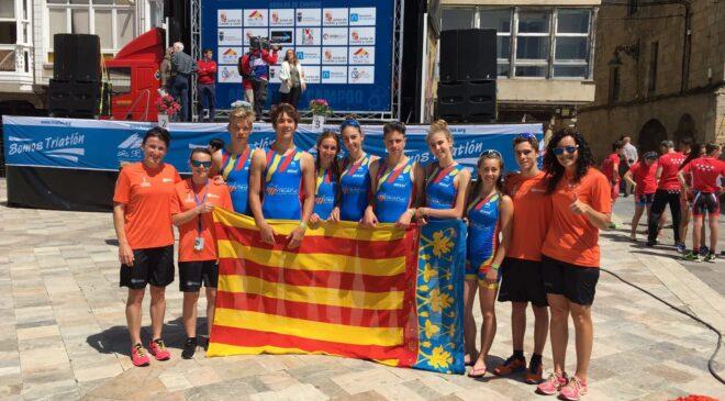 Las selecciones valencianas escolar y absoluta  competirán en el Campeonato de España de Triatlón por Autonomías.