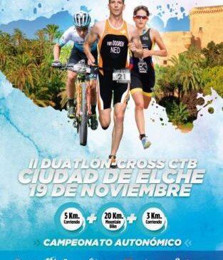 El Campeonato Autonómico de Dutalón Cross se disputará este fin de semana en Elche.