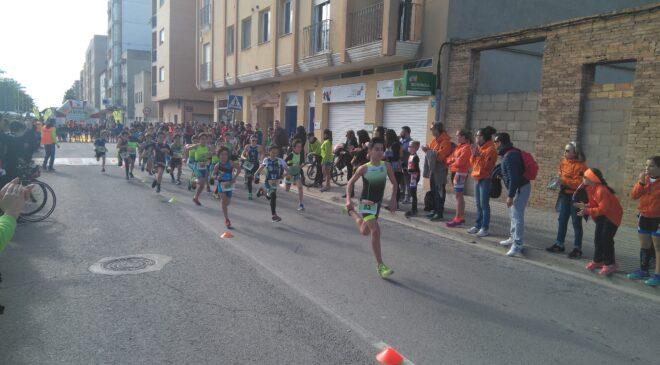 La localidad de Carlet celebra un año más su duatlón escolar dentro de los Juegos Deportivos Vialrterra.