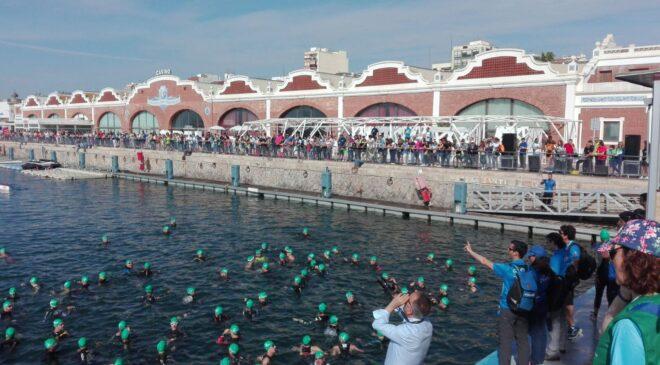 Sonia Ruiz i Roger Mirabet vencen en el I Triatló Port de Castelló