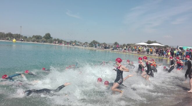 El Triatló de Bétera acogió la fase autonómica de los XXXVI Juegos Deportivos Vialterra.