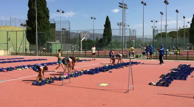 Ontinyent celebró el Acuatlón Escolar puntuable para los Juegos Deportivos Vialterra.