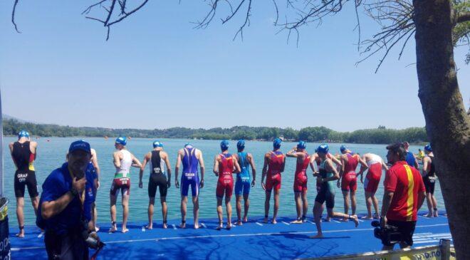 Banyoles celebró el Campeonato de España de Triatlón Sprint y Acuatlón este fin de semana.