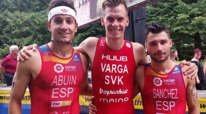 Roberto Sánchez logra el bronce en el Europeo de Triatlón de Estonia