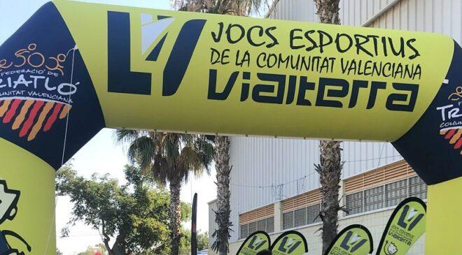 200 triatletas escolares se dieron cita en el Triatlón de Moncada