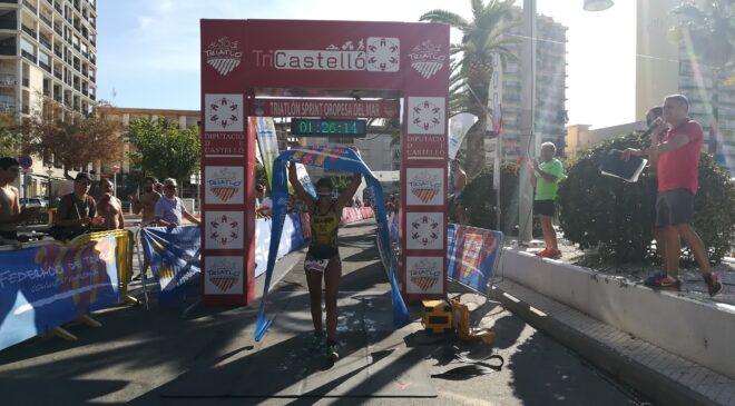 Quico Rueda y Sonia Ruíz vencen en el Triatlón Sprint de Oropesa del Mar