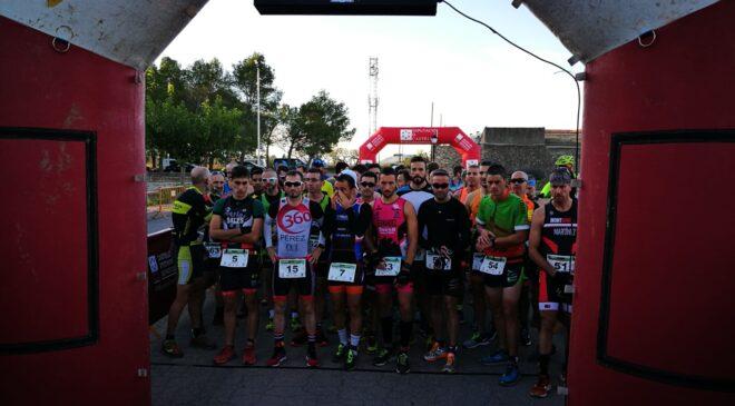 Beatriz Adell y Rafa Zapata vencen en el I Duatlón Cross de Vilanova d'Alcolea