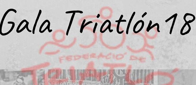 Alicante acoge la Gala del Triatlón de la C. Valenciana