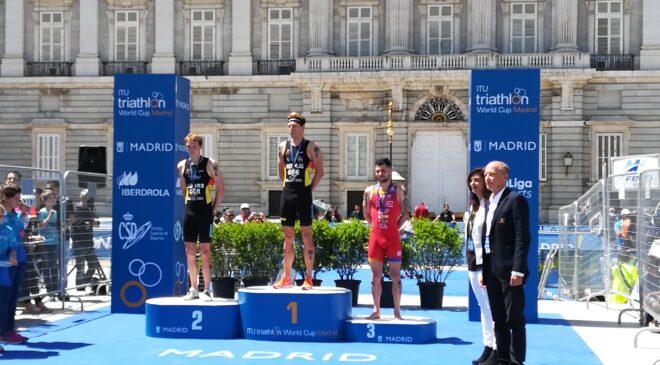Roberto Sánchez bronce en la Copa del Mundo de Madrid
