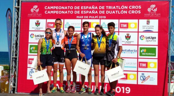 Buenos resultados de los triatletas valencianos en el nacional de Triatlón Cross y Duatlón Cross