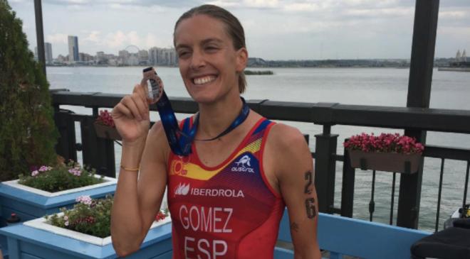 Tamara Gómez se hace con el bronce en el Campeonato de Europa Sprint de Triatlón