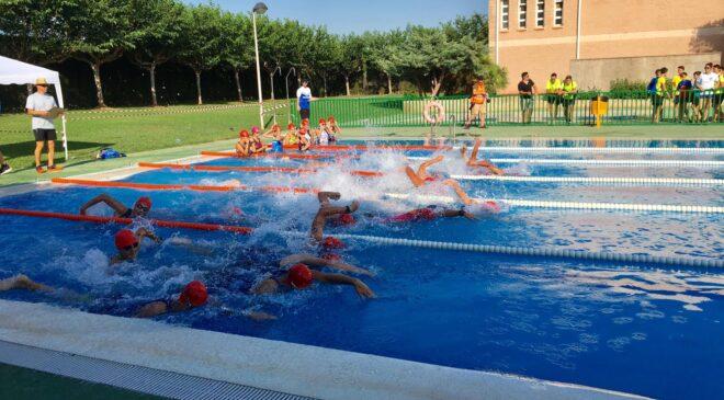 Les Alqueríes celebra su primer Triatlón Escolar