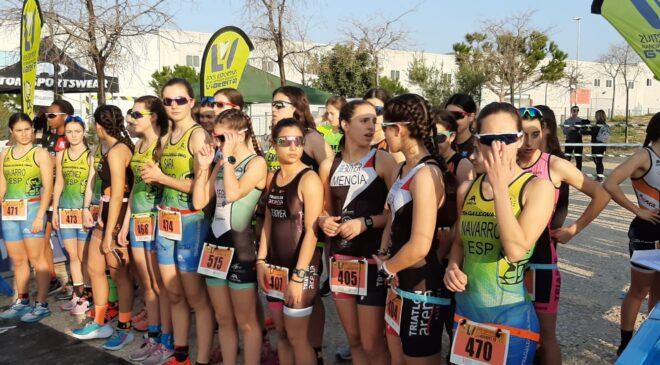El duatló escolar de Sant Vicent acull la fase autonòmica dels Jocs Esportius Vialterra.