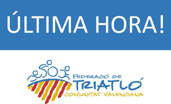 Última hora competiciones federadas Comunidad Valenciana.