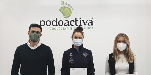 Podoactiva, colaborador técnico TRICV