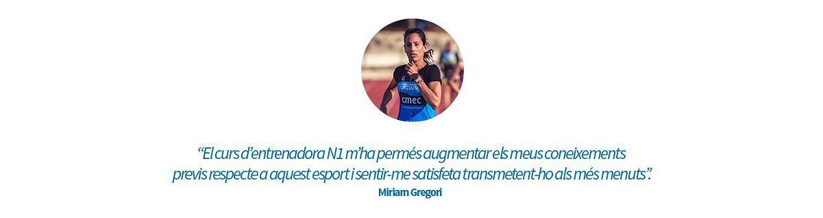 Opinió N1 Miriam Gregori