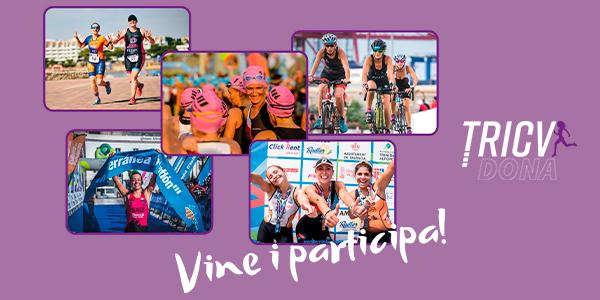 TRIDONA   Entrenaments de triatló popular a Castelló, València i Alacant