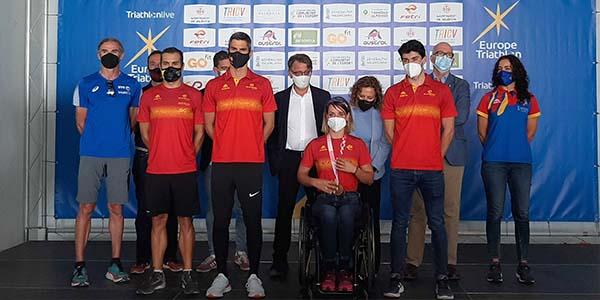 València, primera ciudad en celebrar un Campeonato de Europa de Triatlón, tras la pandemia