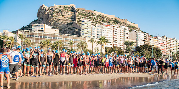 Alicante Triatlón, sede del Campeonato Autonómico de Triatlón Sprint